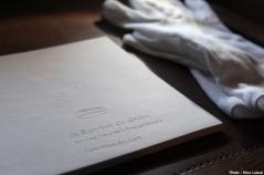 Livre gaufré, 15 x 30 cm, 15 pages, 2010.