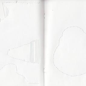 bplp carnet 09, papier cousu, 21 x 15 cm.
