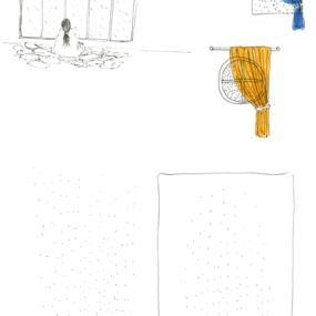 bplp 01, feutre sur papier, carnet 21 x 15 cm.