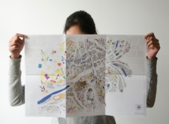 Verso, impression offset sur papier Couché satiné 135 g/m2, 40 x 60 cm déplié, 2013