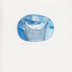 Souffle (16h28) e.a. , 2013, pointe sèche sur rhénalon