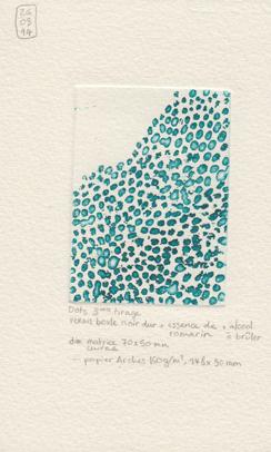 Dots, 3 ème tirage, 2014